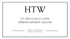 Devis fait par votre agence de référencement naturel à Lyon