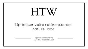 Optimiser votre référencement naturel local