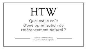 Quel est le coût d'une optimisation du référencement naturel ?