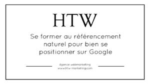 Se former au référencement naturel pour bien se positionner sur Google