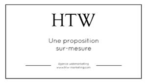 Une proposition sur-mesure