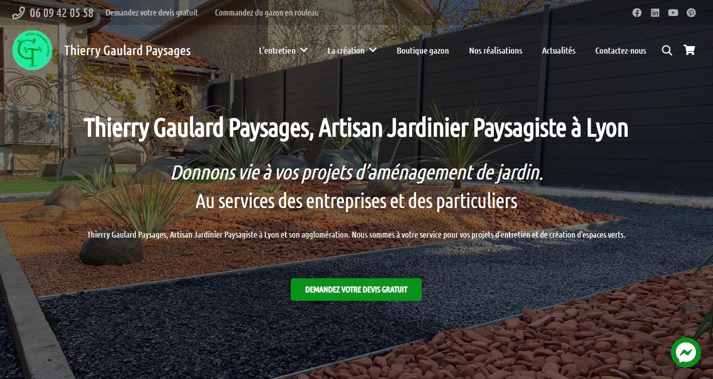 Le site de Thierry Gaulard Paysages #1